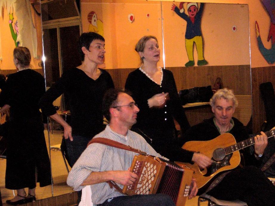 chanteuses et musiciens